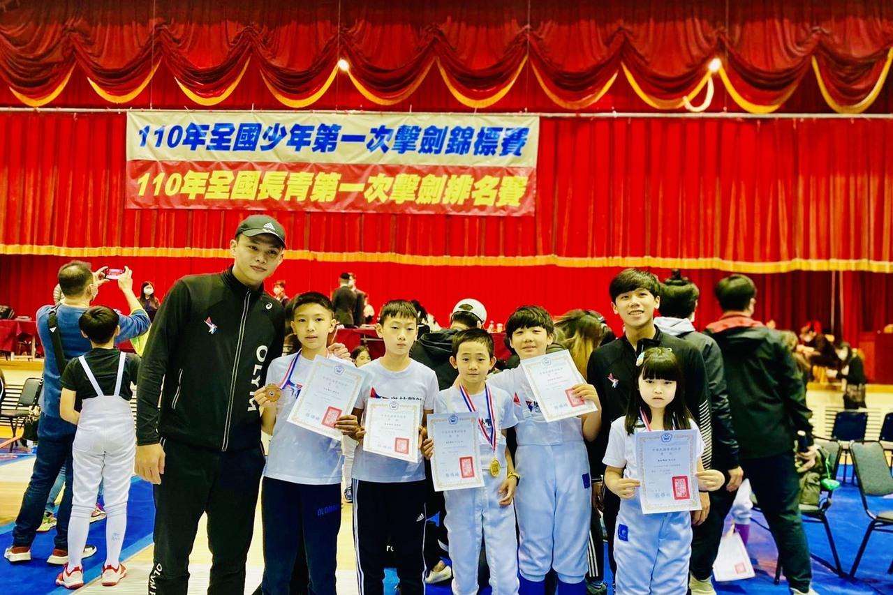 全國少年第一次擊劍錦標賽 提倡小學生多元化參加課外體育活動