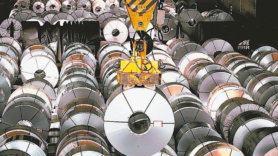 鋼市需求暢旺。 本報系資料庫