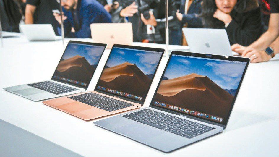 MacBook Air示意圖。圖/美聯社