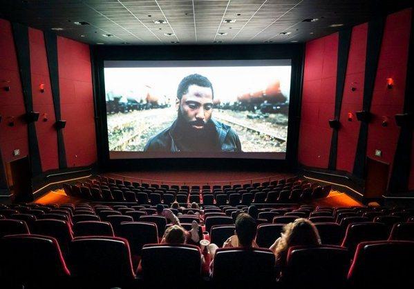 《天能》上映時,電影院的觀眾依然不多。