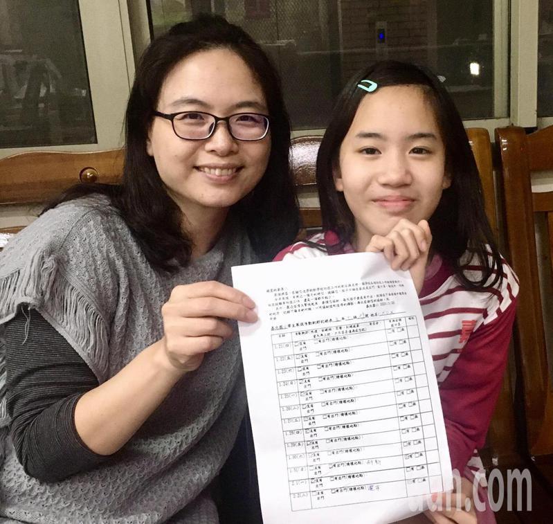 嘉義市國中小學生寒假不辦畢旅,要寫寒假活動軌跡記錄。記者卜敏正/攝影