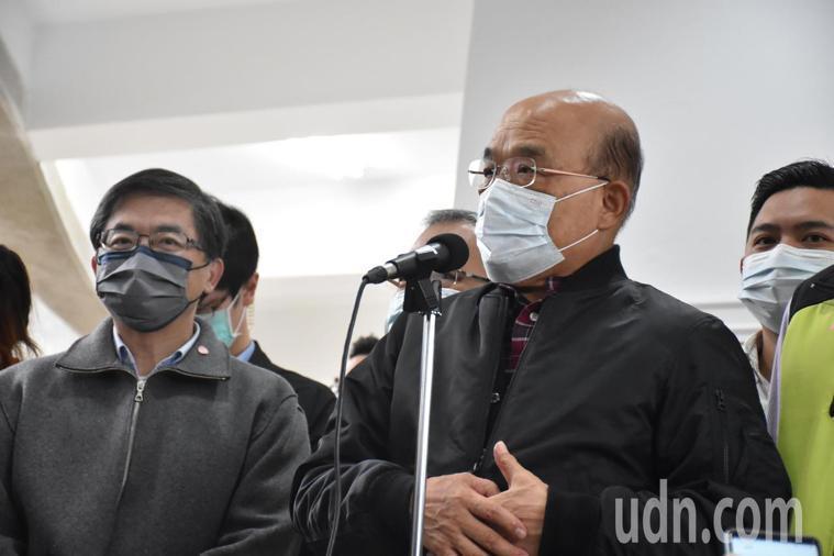 台北市長柯文哲昨天表示,從今年3月起,疫苗將會成為台灣政治攻防焦點,行政院長蘇貞...