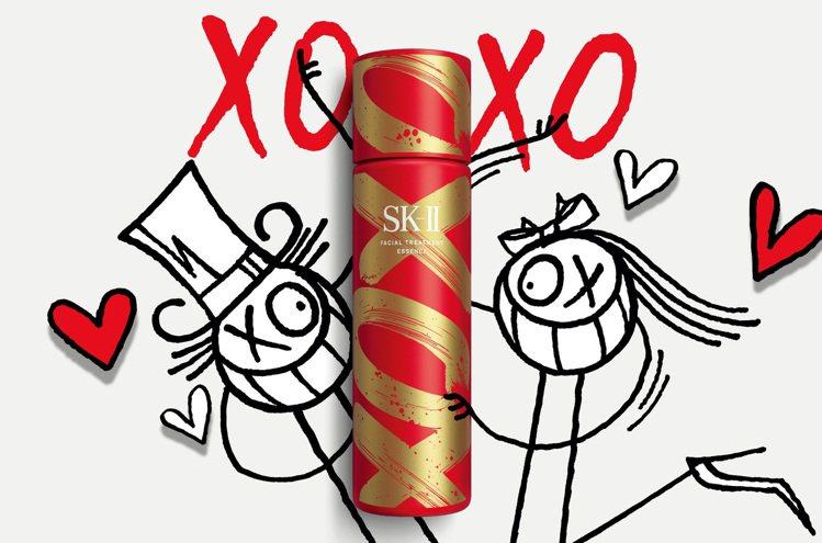 SK-II青春露XOXO新年限量版/230ml/6,250元。圖/SK-II提供