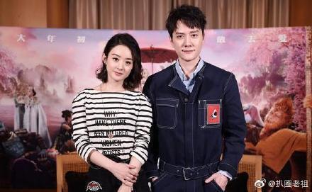 趙麗穎、馮紹峰婚後屢被傳婚變。圖/摘自微博