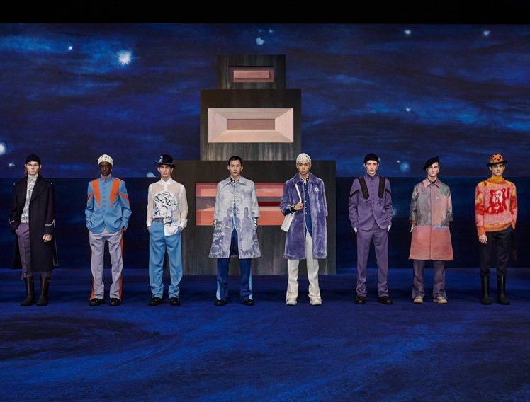 DIOR發表2021秋冬男裝系列。圖/DIOR提供