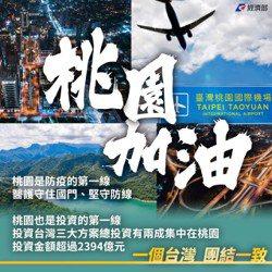經濟部今(23)日表示,「桃園,就是台灣的第一線」,桃園不僅是台灣的大門,也是投...