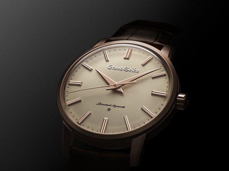 Seiko創立140週年紀念腕表,12點鐘位置的「Grand Seiko」log...