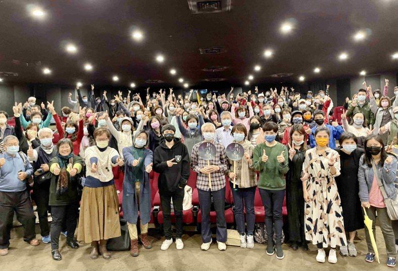 「聽見臺灣」觀眾包場。圖/海鵬提供