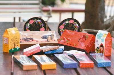 巧克力雲莊最受歡迎的「雲莊經典生巧克力」。記者黃仲裕/攝影