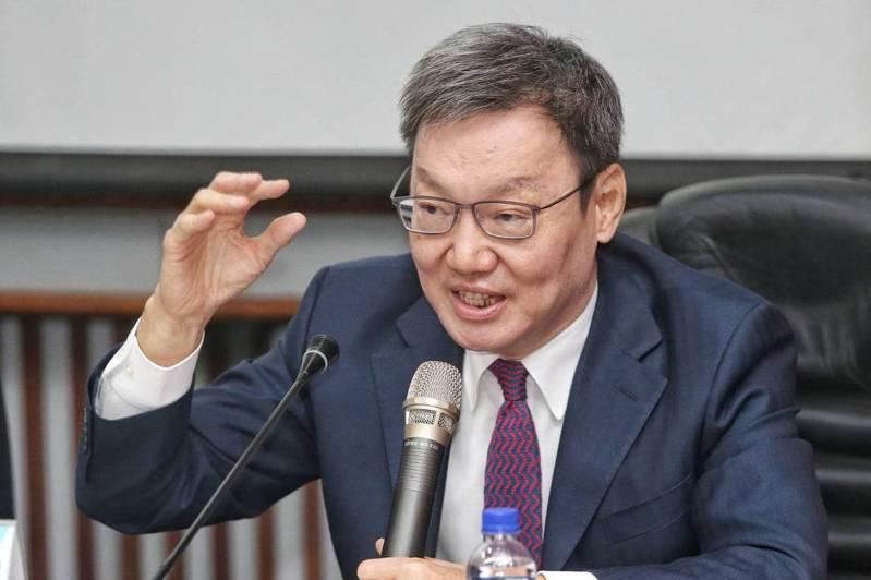 前國安會秘書長蘇起。圖/聯合報系資料照片