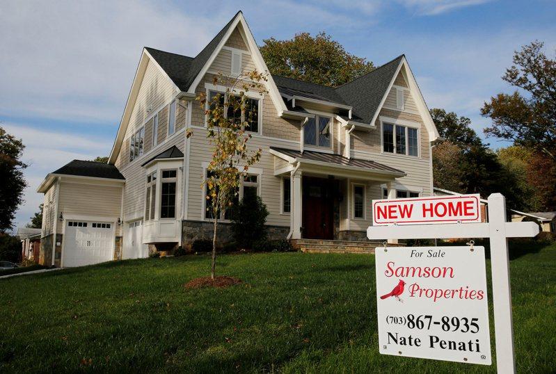 美國去年12月成屋銷售成長超乎預期,2020年成屋銷量更寫下14年來最高紀錄。 (路透)
