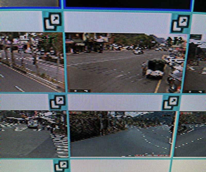 大湖警分局預估春節連假將有10萬車潮湧入大湖草莓、泰安溫泉區,將運用即時影像輔助交通疏導。圖/大湖警分局提供