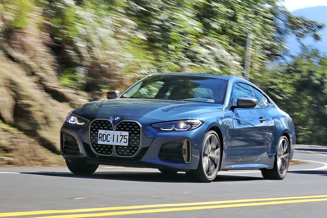 BMW M440i xDrive除了換上品牌引以為傲的六缸引擎及48V輕油電動力...