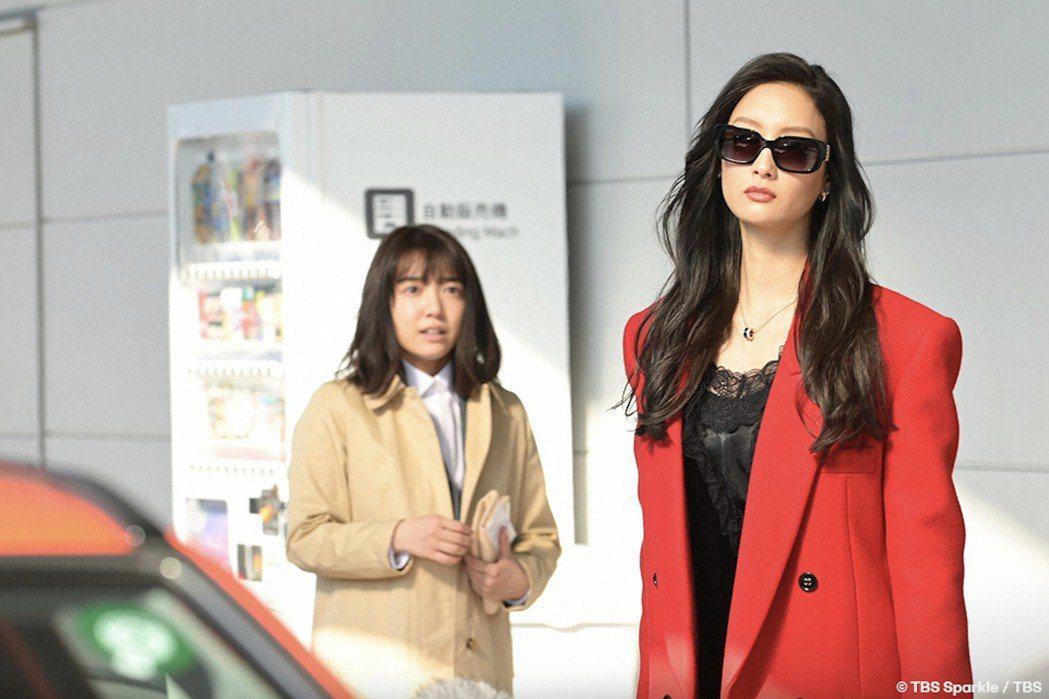 時尚總編寶來麗子(菜菜緒 飾)無情使喚女主角鈴木奈未。 圖/取自TBSテレビ