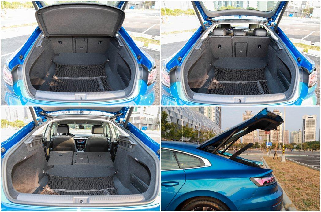 Volkswagen Arteon Fastback最大能提供1,557公升的行...