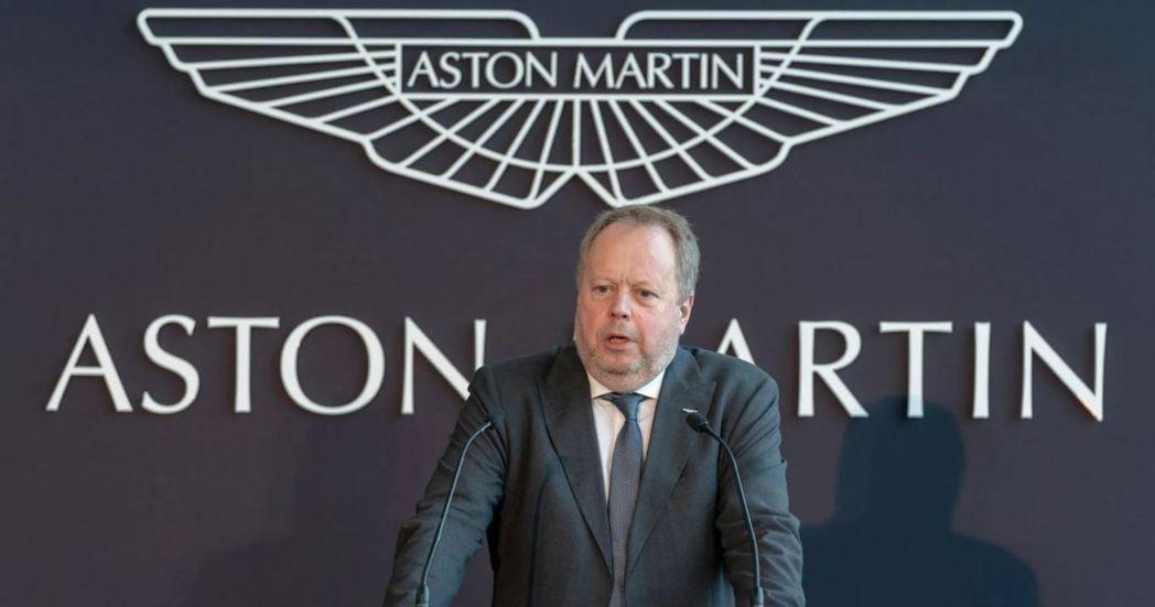 前Aston Martin執行長Andy Palmer。 摘自Carscoops