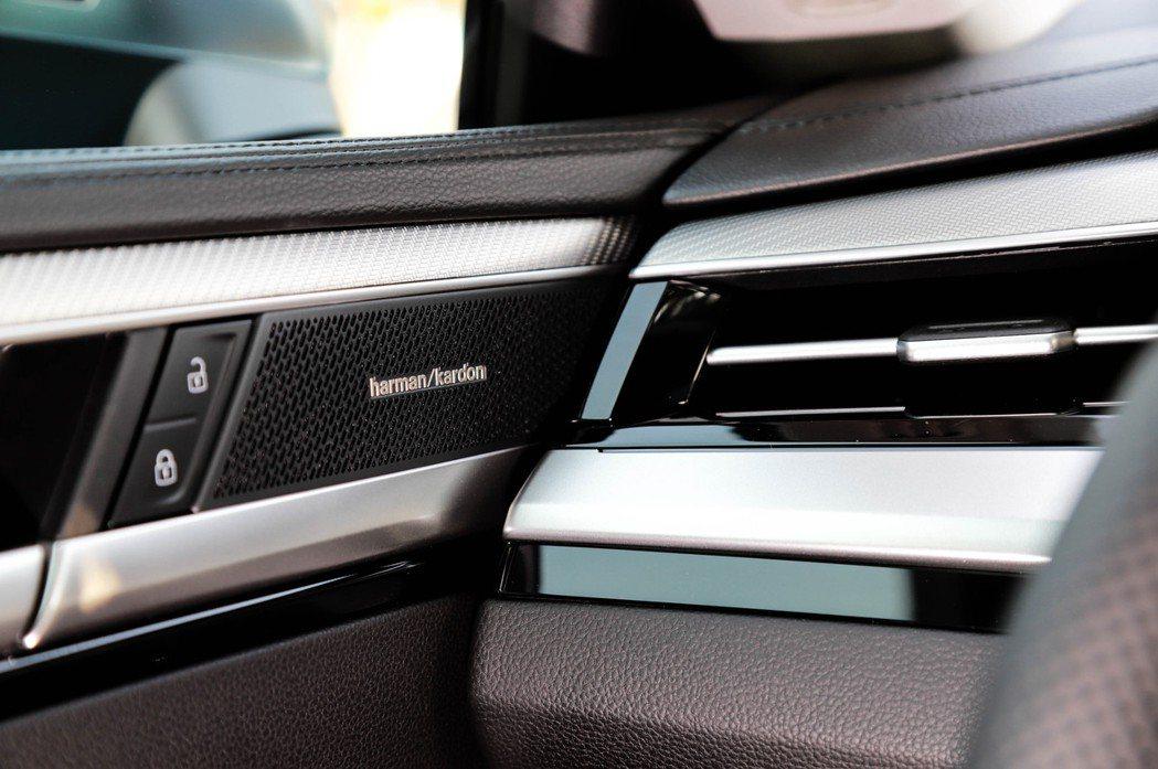 Volkswagen Arteon在有著Harmon Kardon環繞音響系統的...
