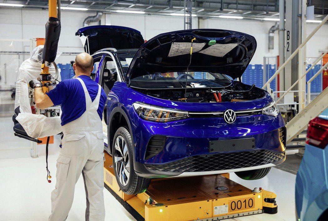 Volkswagen ID.4。 摘自Volkswagen