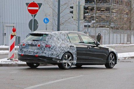 新世代Mercedes-Benz C-Class Estate多處測試中 優雅跑格依舊