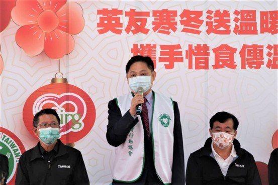 惜食台灣行動協會理事長簡承盈致詞,發揚協會「疼惜社會、疼惜台灣」的理念。   主...