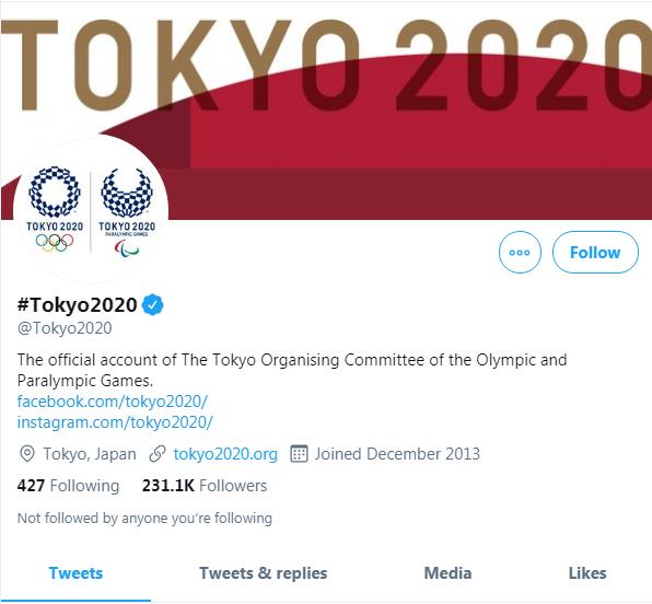 奧運官方推特。