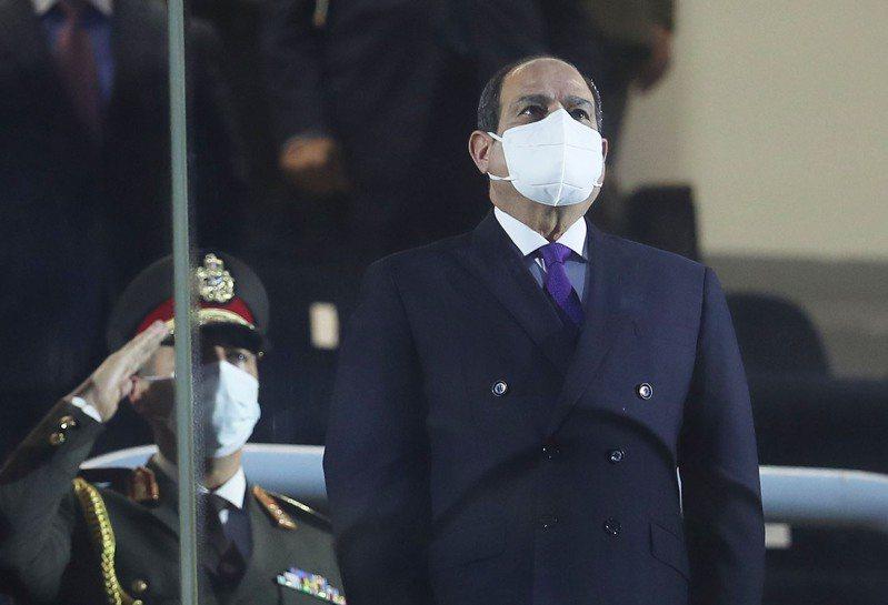 埃及總統塞西。 歐新社