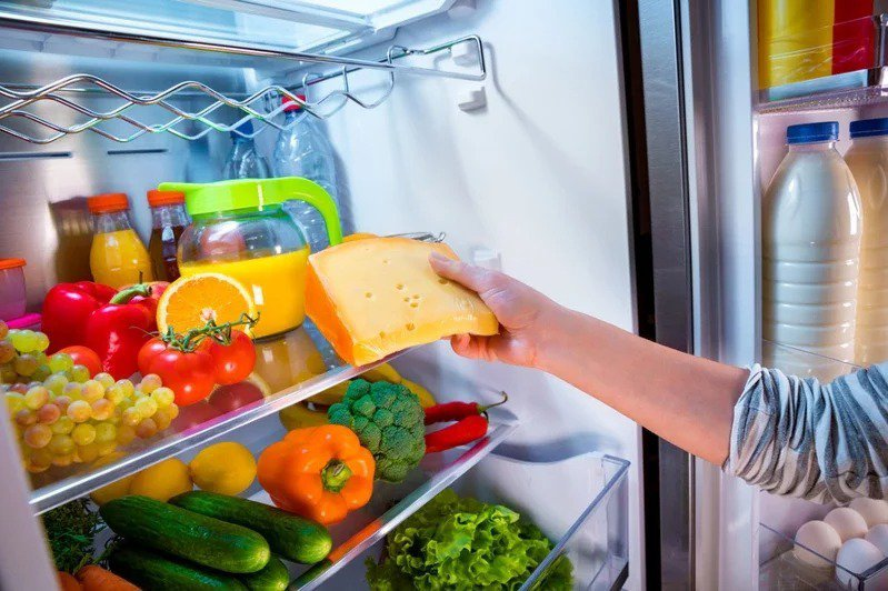 大學學測國文寫作,寫作題目是「如果我有一座新冰箱」。冰箱示意圖。圖/ingimage