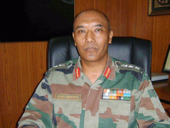 印度退役上校旺楚克曾締造全球戰史最高海拔5500公尺開戰紀錄。圖/取自維基百科