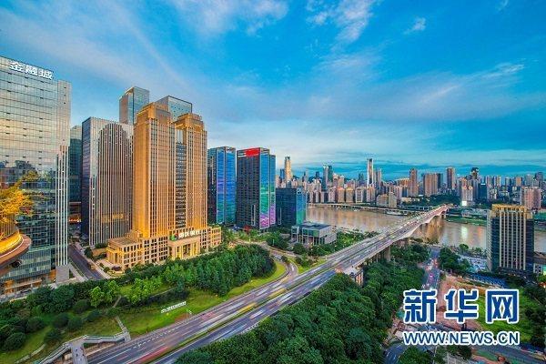 重慶計畫建設面向東協的內陸國際金融中心,可能帶動大陸西部與東協國家「面對面」金融互聯互通。(圖/取自新華網)
