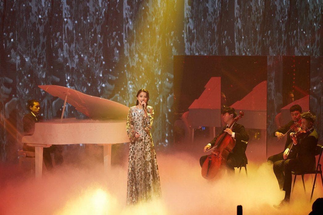 田馥甄參與TMEA娛樂音樂盛典。圖/騰訊音樂娛樂集團提供