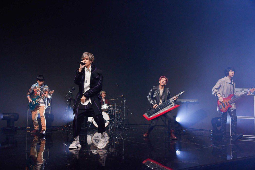 八三夭參與TMEA娛樂音樂盛典。圖/騰訊音樂娛樂集團提供