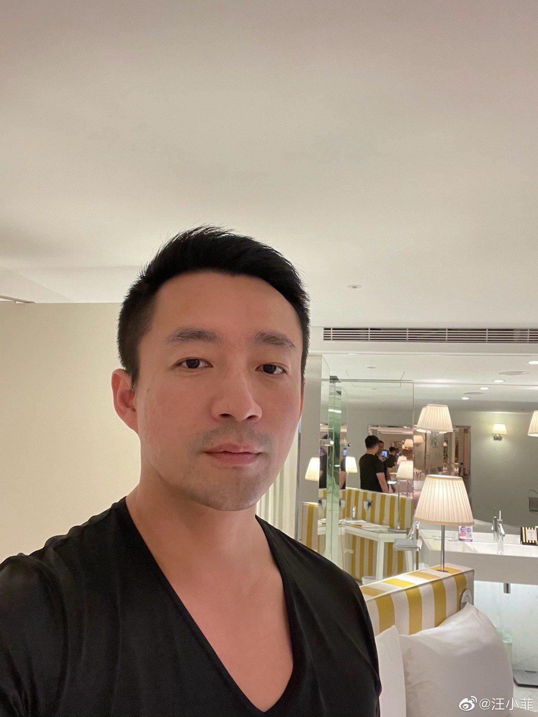 汪小菲在台北自家的飯店進行隔離。 圖/擷自汪小菲微博