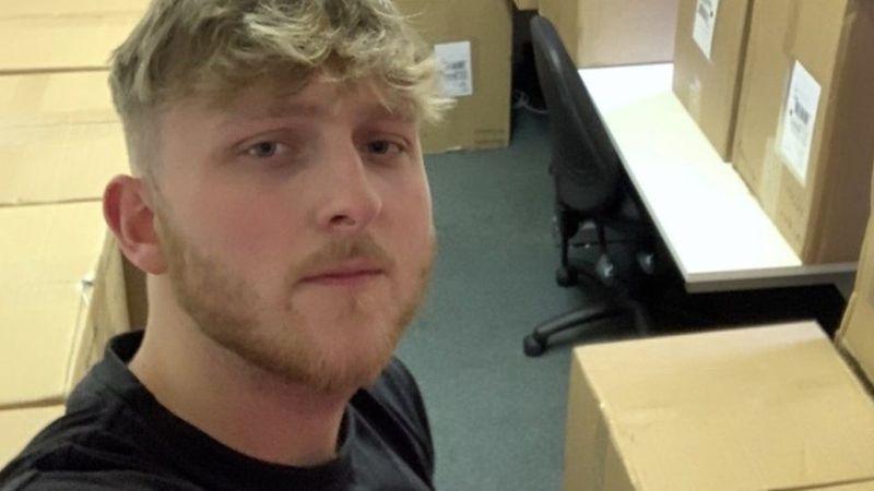 英國20歲男子封城期間賣日用品,最多一天賺12000英鎊(約合新台幣45萬元)。 圖/取自bbc