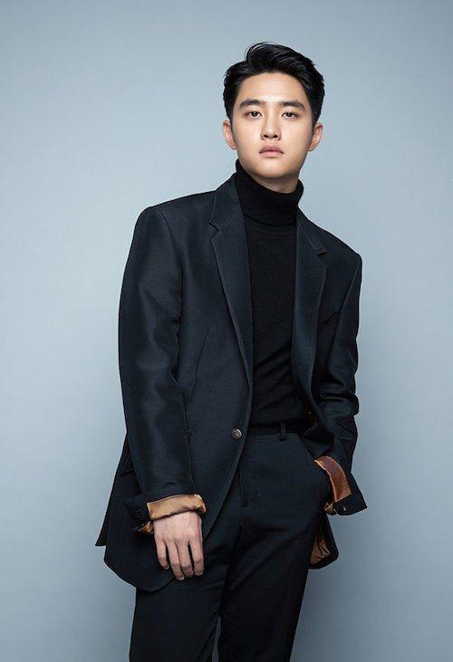 EXO成員D.O.(都暻秀)於今日退伍。圖/SM娛樂