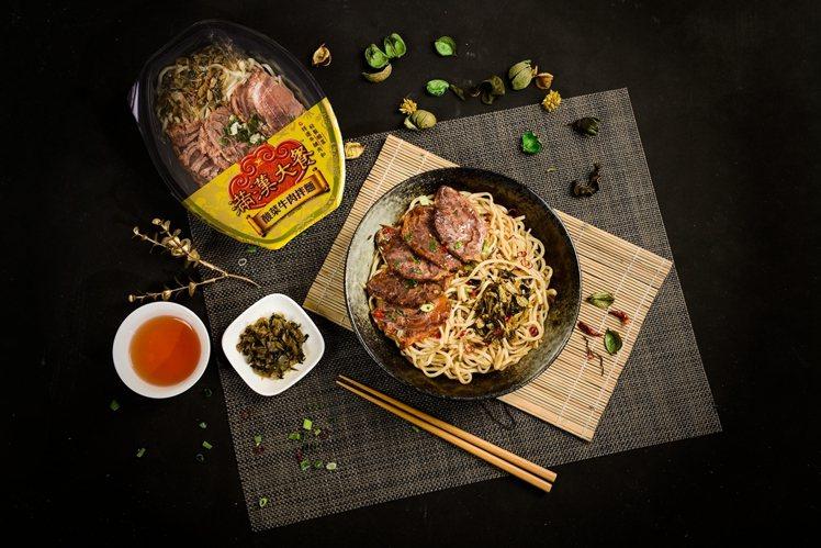 圖/儂儂提供 滿漢大餐 酸菜牛肉拌麵 109元