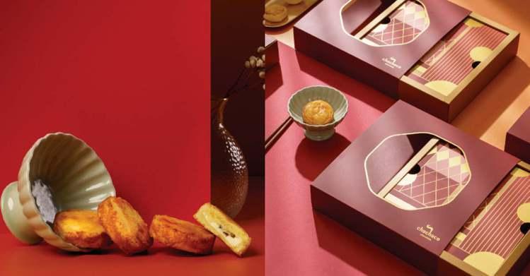 chochoco「法式新年閃耀禮盒」 728元。圖/儂儂提供