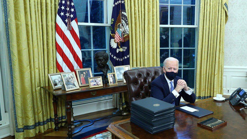 美國總統拜登。 路透