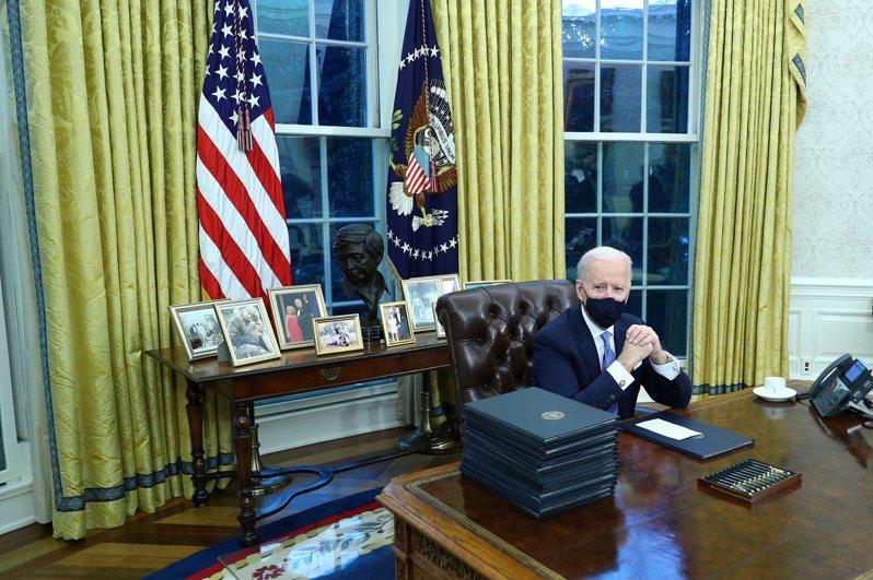 美國總統拜登。路透