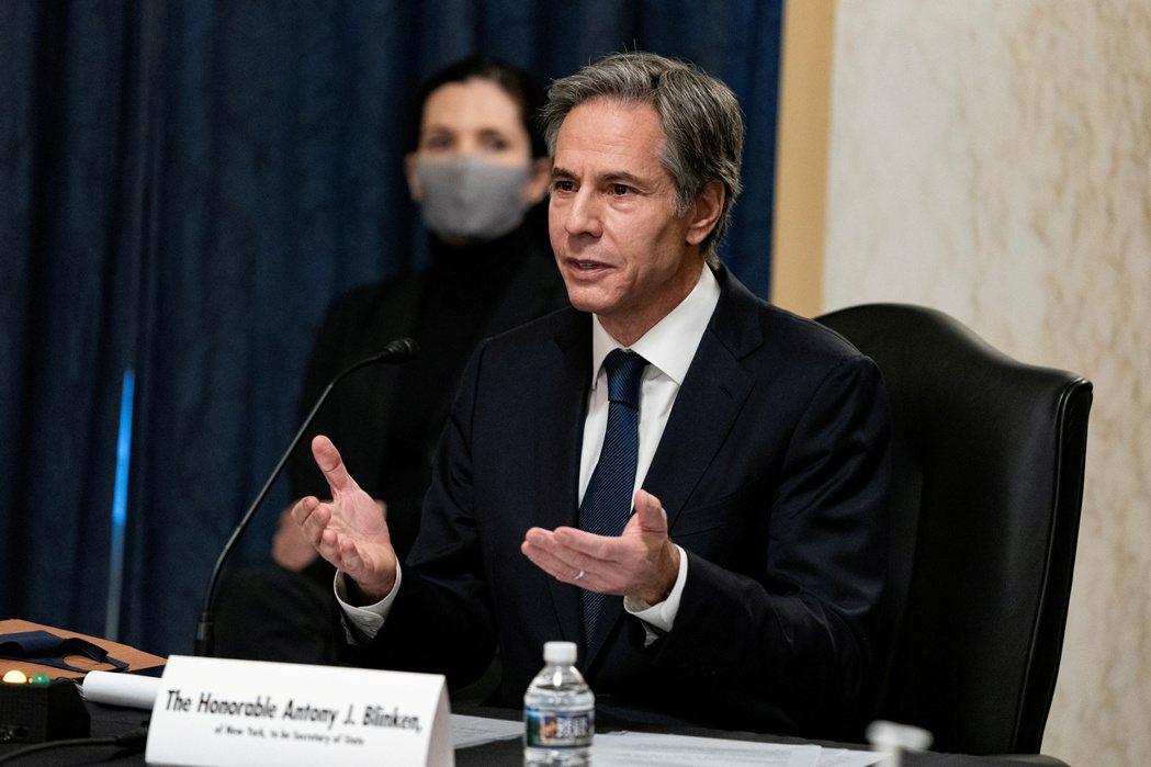 美國國務院23日發表對台灣政策聲明,充分表達對台灣的友善與支持 。圖為候任國務卿...