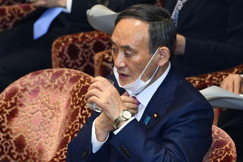日本首相菅義偉。圖/法新社