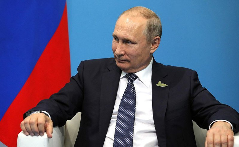 美、俄在拜登剛上台時有些微衝突,但總統普丁還是希望能進行對話。(Photo by Kremlin.ru on Wikimedia under CC 4.0)