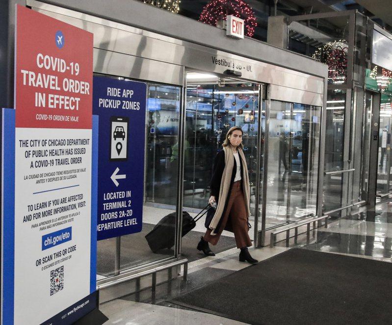 拜登恢復川普取消的新冠旅遊禁令。歐新社