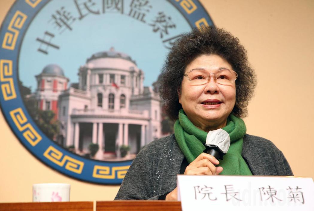 為保障受刑人人權,監察院長陳菊今天宣布開辦受刑人遠距視訊陳情。記者胡經周/攝影