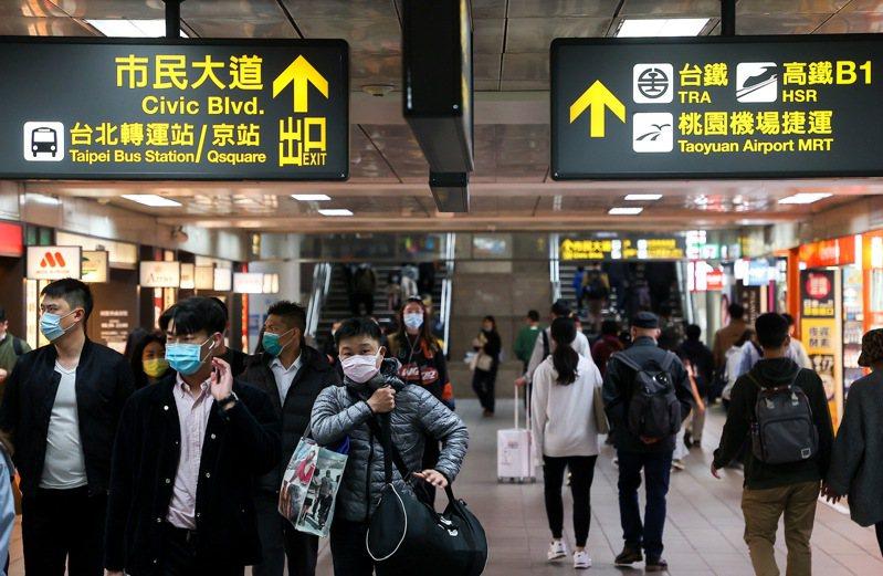 六都人口十年內增減出現變化,從台北遷出近十萬人。記者余承翰/攝影
