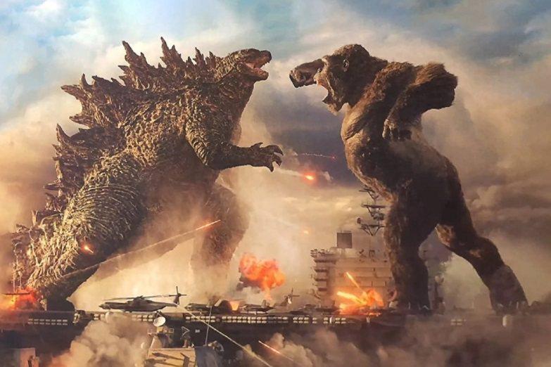 「哥吉拉大戰金剛」是今年春天最強大的特效巨片。圖/摘自imdb