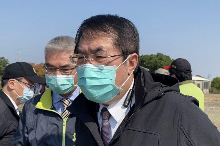 台南市長黃偉哲。圖/本報資料照片
