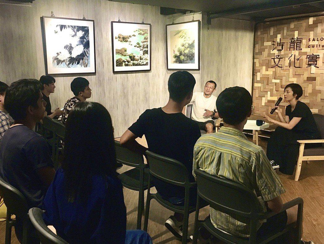 金馬影后桂綸鎂擔任客座表演老師。圖/公視、myVideo提供