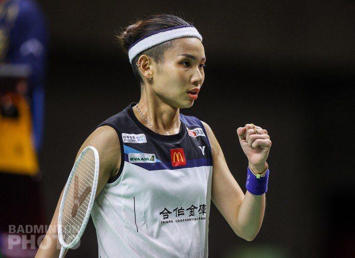 戴資穎將挑戰個人第3座年終賽金盃。圖/Badminton Photo提供