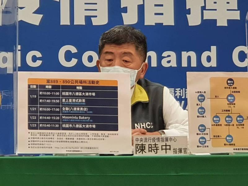 中央流行疫情指揮中心陳時中。記者楊雅棠/攝影