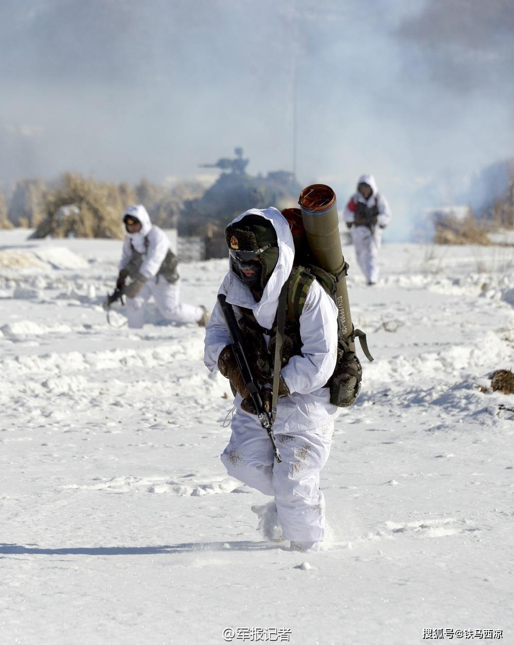 中印邊界部隊再傳發生肢體衝突,有人受傷。圖為解放軍的高原部隊。(解放軍報)